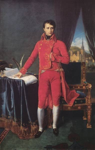 Ingres Bonaparte as First Consul